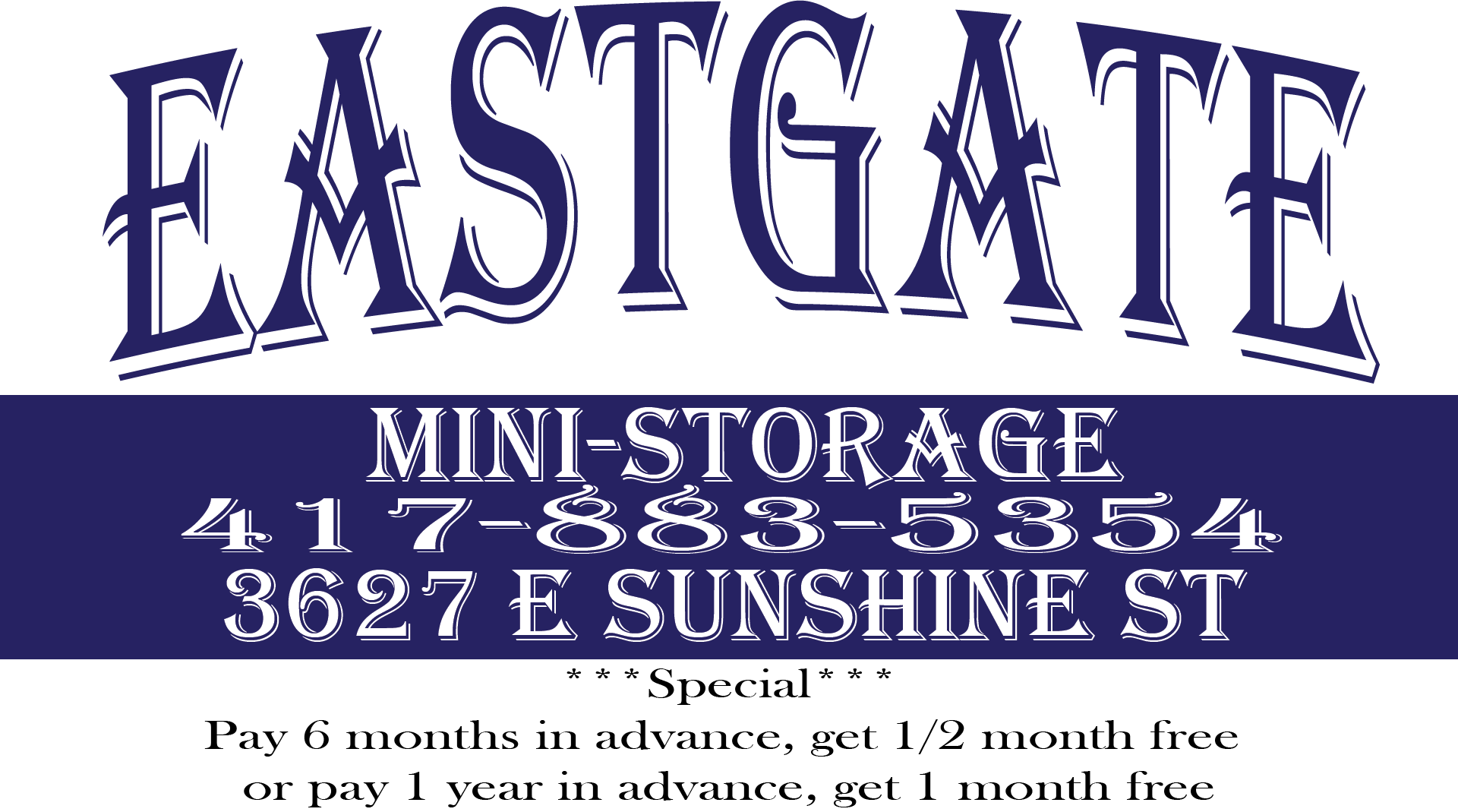 Eastgate Mini Storage